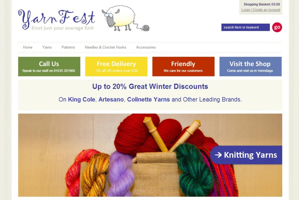 Yarnfest Home Page Image